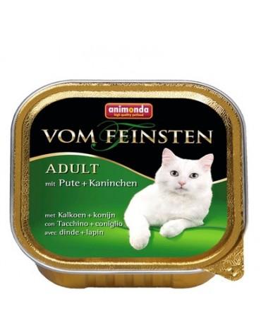 Animonda vom Feinsten Cat Adult z Indykiem i Królikiem tacka 100g