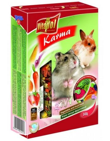Vitapol Owocowo-Warzywny Pokarm dla Chomika i Królika 350g [1024]