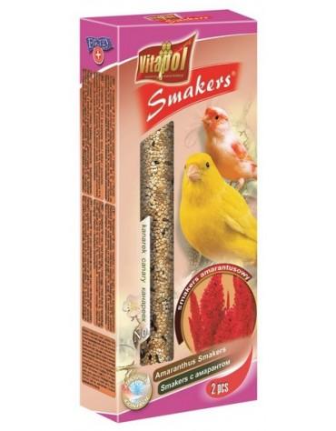 Vitapol Smakers dla kanarka - amarantusowy 2szt [2513]