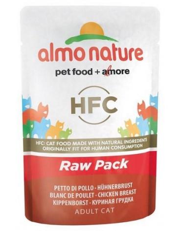 Almo Nature HFC Raw Pack Kot - Kurczak saszetka 55g [5821]