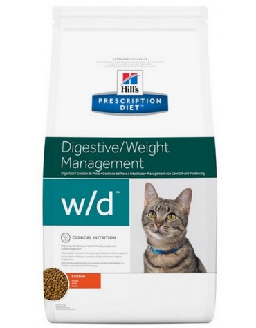 Hill's Prescription Diet w/d Feline 5kg