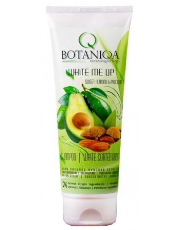 Botaniqa White Me Up Sweet Almond & Avocado Szampon - połysk i blask 250ml