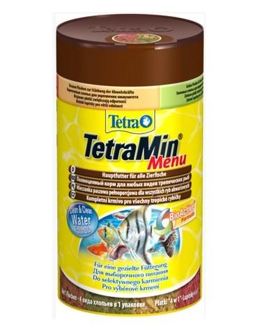 Tetra Menu - mix płatków w czterech przegrodach - dla ryb słodkowodnych 100ml
