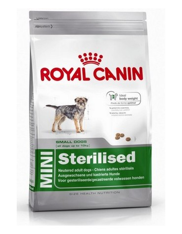 Royal Canin Mini Sterilised karma sucha dla psów dorosłych, ras małych, sterylizowanych 2kg