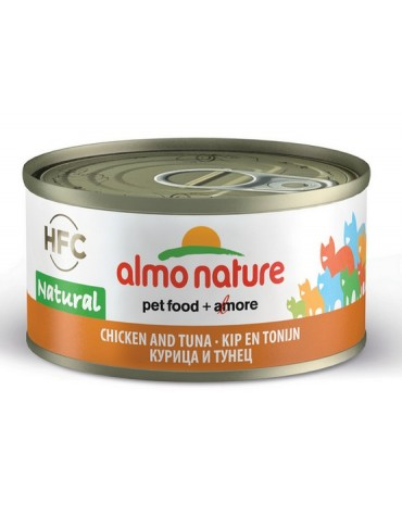 Almo Nature HFC Natural Kot - Kurczak i tuńczyk 70g [5025H]