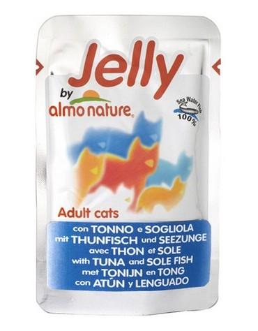 Almo Nature Jelly Kot - Tuńczyk i sola saszetka 70g [5038]