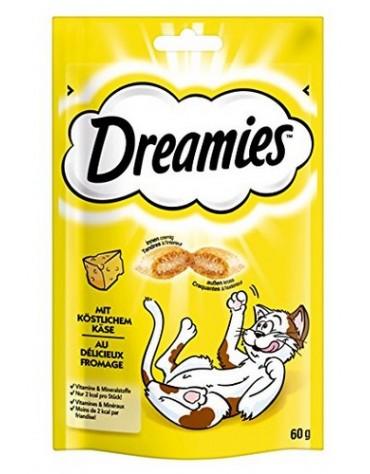 Dreamies Ser żółty - przysmak dla kota 60g