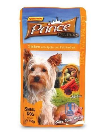 Prince Premium Dog Kurczak, jabłka, marchew i żurawina saszetka 150g [PD1505]