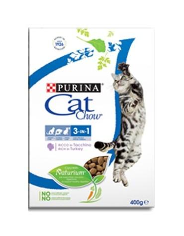 Purina Cat Chow 3in1 z indykiem 400g