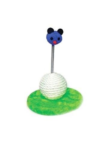 Yarro Drapak Mini Myszka zielono-niebieski 18x12x18cm [Y1153]