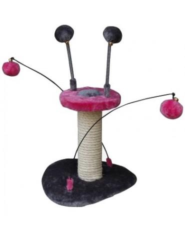 Yarro Drapak Mini UFO różowo-szary 23x24x25cm [Y1144]