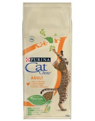 Purina Cat Chow Adult z Kurczakiem 15kg