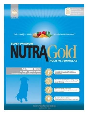 Nutra Gold Holistic Senior Dog 15kg