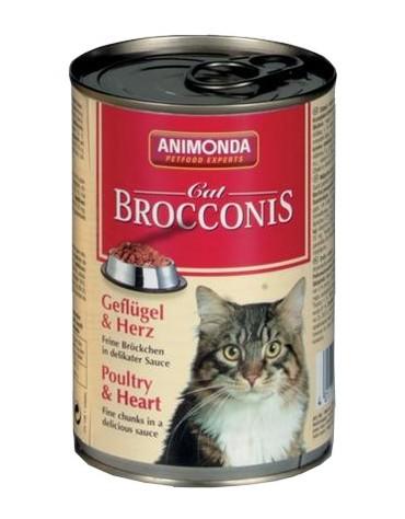 Animonda Brocconis Kot  Drób+Serca 400g