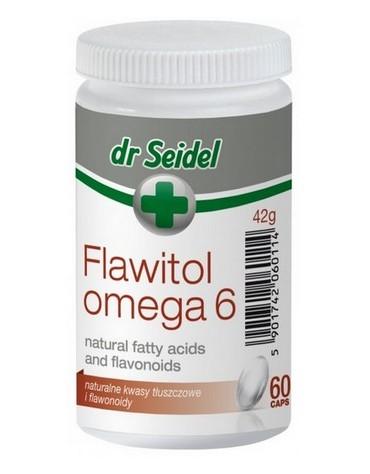 Dr Seidel Flawitol Omega 6 skóra i sierść - 60 kaps.