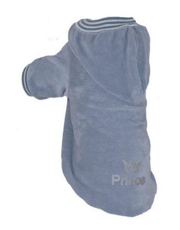 Grande Finale Bluza szara Prince/Crow dla psa rozmiar 5 [B54]
