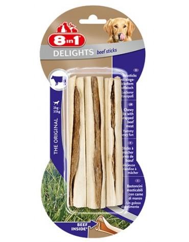 8in1 Beef Delights Sticks 3szt