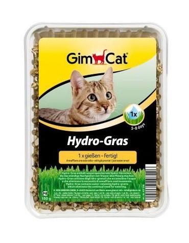 Gimpet Hydro-Gras - Trawa z hydrogranulkami dla kota - pojemnik 150g