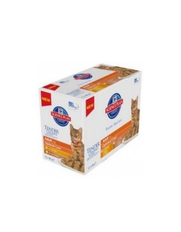 Hill's Feline Adult Chicken & Turkey Optimal Care MULTIPAK Poultry saszetka 12x85g