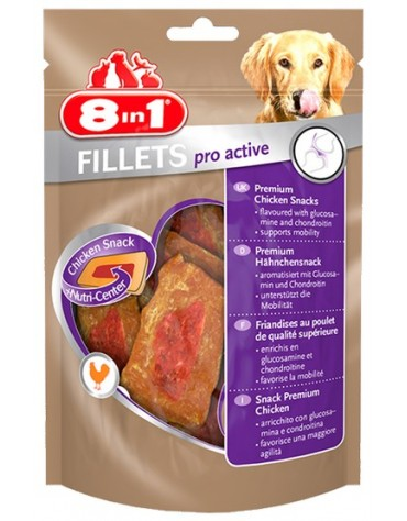 8in1 Fillets Pro Active - przekąska na stawy 80g