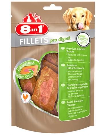 8in1 Fillets Pro Digest - przekąska na lepsze trawienie 80g