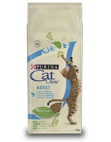 Purina Cat Chow Adult z Łososiem 15kg
