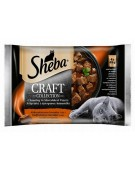 Sheba Craft Collection Soczyste smaki saszetki 4x85g