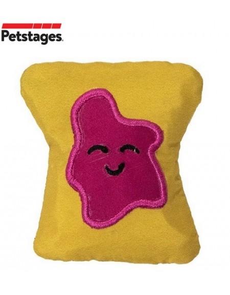 Petstages Tiny Toast Tosser dla kota [PS67841]