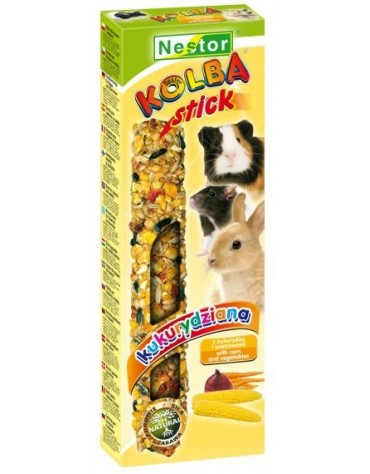 Nestor Kolba Gryzoń popcorn z warzywami 2szt