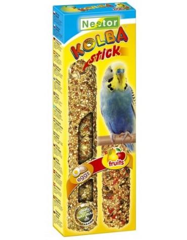 Nestor Kolba 2w1 Papuga mała jajko i owoc 2szt