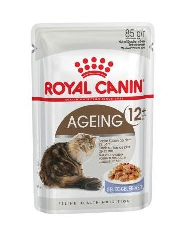 Royal Canin Ageing +12 karma mokra w galaretce dla kotów dojrzałych saszetka 85g