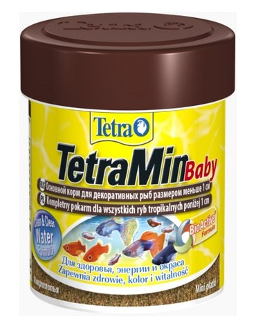 TetraMin Baby 66ml - dla narybku do 1cm