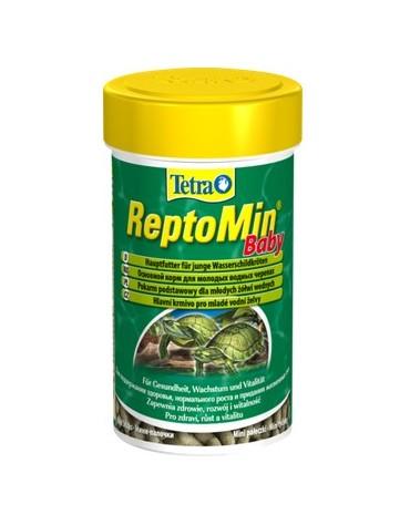 Tetra ReptoMin Baby 100ml - dla młodych żółwi wodnych