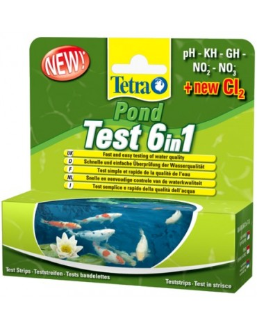 Tetra Pond Test 6in1 25szt