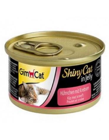 Gimpet Shinycat Huhnchen mit Krebsen - kurczak i kraby puszka 70g