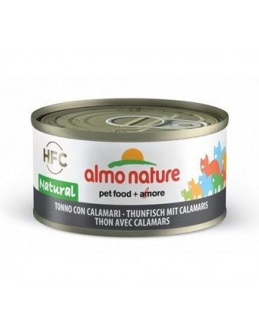 Almo Nature HFC Natural Kot - Tuńczyk i kalmary 70g [5019]