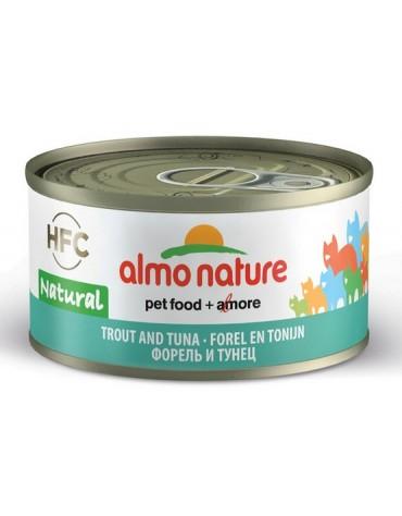 Almo Nature HFC Natural Kot - Pstrąg i tuńczyk 70g [5036H]