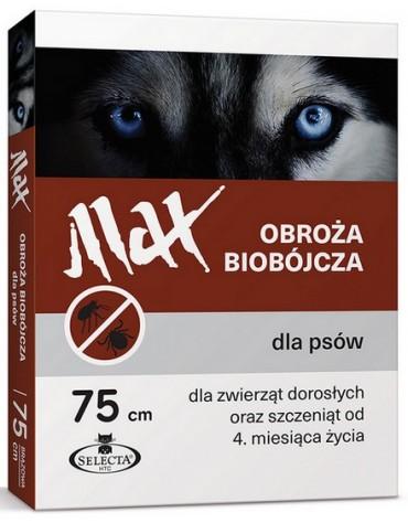 Selecta HTC Obroża Max biobójcza dla psa przeciw pchłom i kleszczom 75cm brązowa [SE-0902]