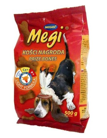 Megan Megi Ciastka dla psa wołowina 500g [ME149]