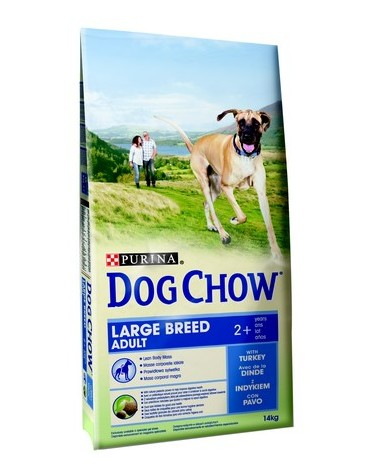 Purina Dog Chow Adult Large Breed Indyk 14kg