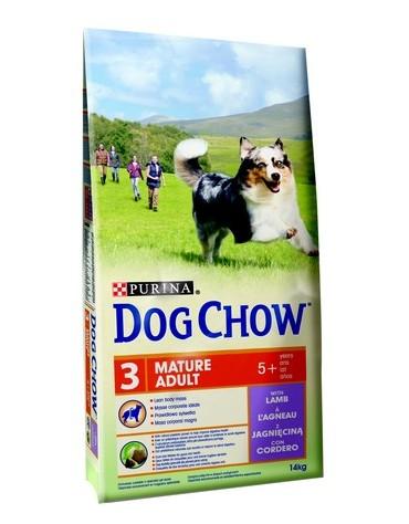 Purina Dog Chow Mature Adult Jagnięcina 14kg