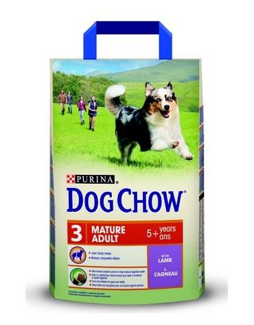 Purina Dog Chow Mature Adult Jagnięcina 2,5kg