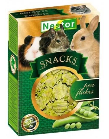 Nestor Snacks - płatki grochu 45g