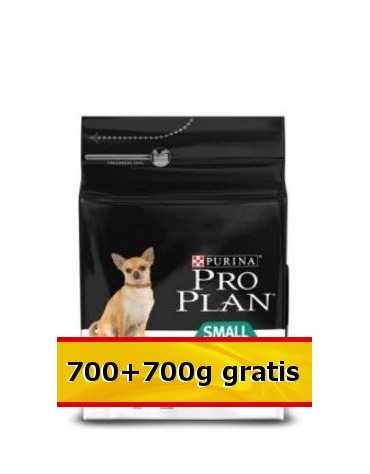 Purina Pro Plan Adult Small & Mini OptiDigest Sensitive Digestion 1,4kg (700+700g gratis)