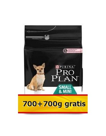 Purina Pro Plan Adult Small & Mini OptiDerma Sensitive Skin 1,4kg (700+700g gratis)