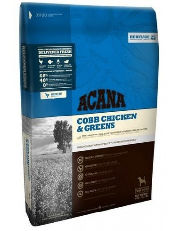 Acana Adult Cobb Chicken & Greens All Breeds 2kg