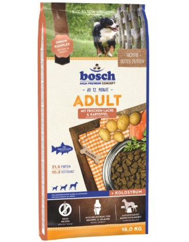 Bosch Adult Salmon & Potato 15kg