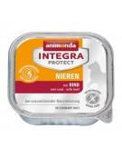 Animonda Integra Protect Nieren dla kota - z wołowiną tacka 100g