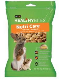 Vetiq Przysmaki z witaminami dla gryzoni Healthy Bites Nutri Care For Small Animals 30g