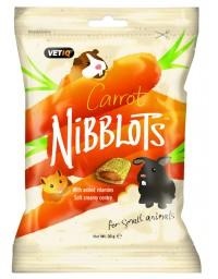 Vetiq Przysmaki dla gryzoni Marchew Nibblots For Small Animals Carrot 30g
